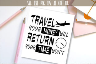 Travel SVG Adventure Quote Graphic By Vector City Skyline