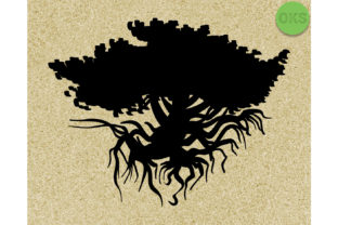 Download Free Tree Of Life Vector Graphic By Crafteroks Creative Fabrica for Cricut Explore, Silhouette and other cutting machines.