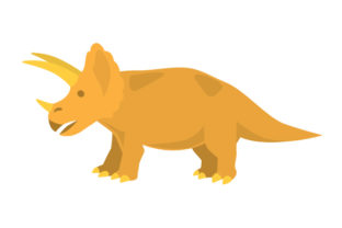Triceratops Craft Design By Creative Fabrica Crafts