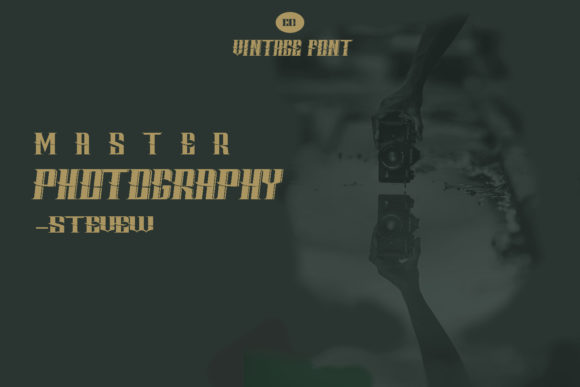 Print on Demand: Tropper Family Display Font By Muhammad Ersya - Image 5