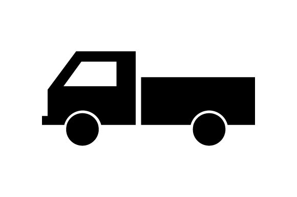 Download Free Truck Icon Graphic By Marco Livolsi2014 Creative Fabrica for Cricut Explore, Silhouette and other cutting machines.