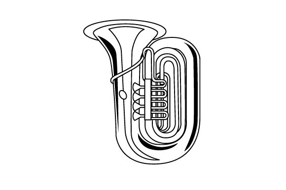Download Free Tuba Svg Cut File By Creative Fabrica Crafts Creative Fabrica for Cricut Explore, Silhouette and other cutting machines.