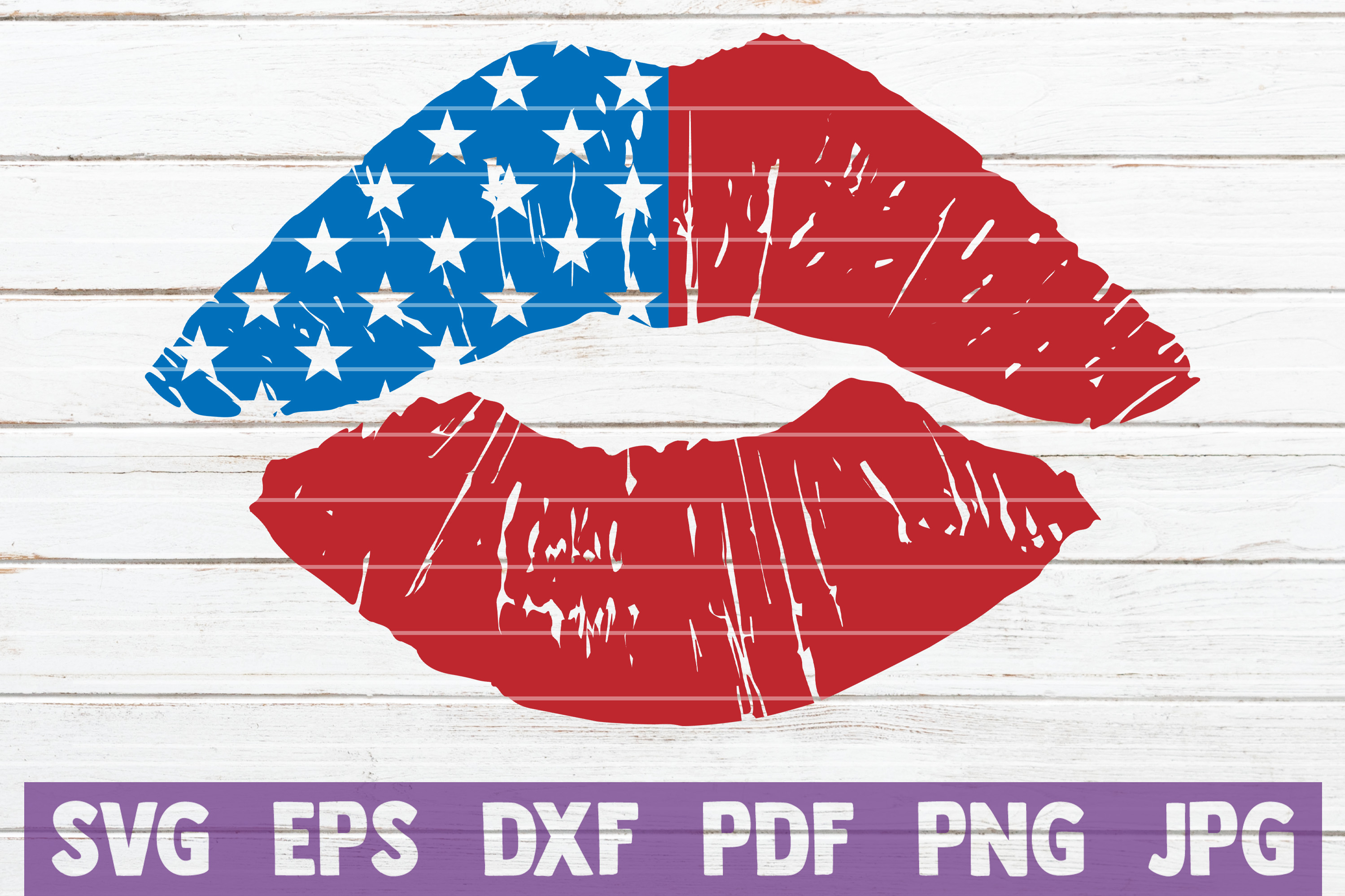 Download Free Usa Lips Cut File Graphic By Mintymarshmallows Creative Fabrica for Cricut Explore, Silhouette and other cutting machines.