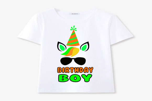 Download Free Unicorn Birthday Boy Svg Birthday Cricut Graphic By Scmdesign for Cricut Explore, Silhouette and other cutting machines.