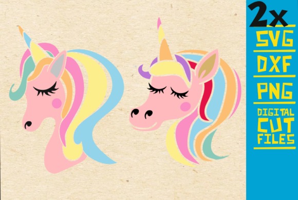 Download Free Unicorn Birthday Graphic By Svgyeahyouknowme Creative Fabrica for Cricut Explore, Silhouette and other cutting machines.