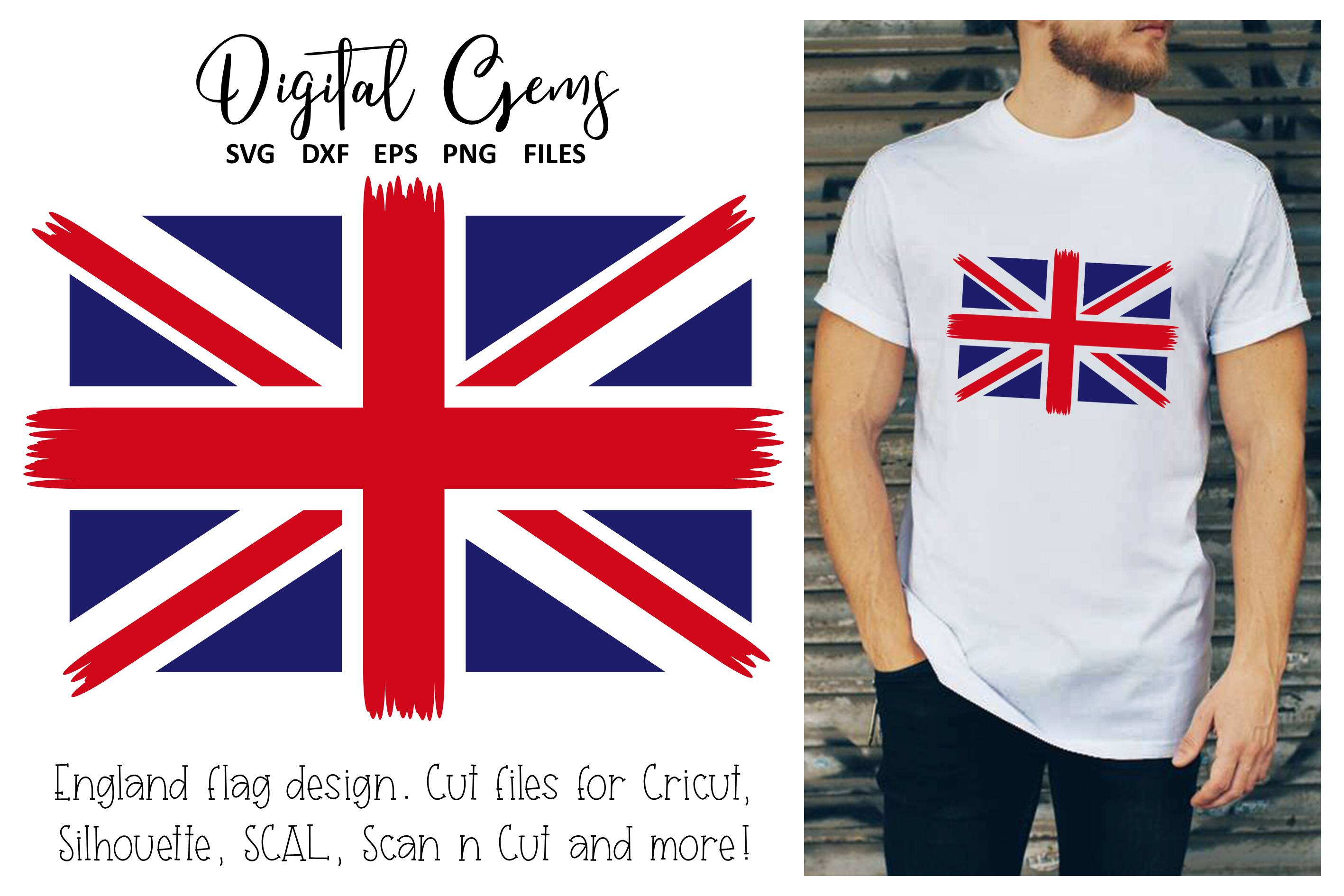 Download Free Union Jack Flag Design Graphic By Digital Gems Creative Fabrica SVG Cut Files