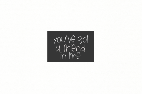 Print on Demand: Unlikely Friends Display Font By KA Designs - Image 3