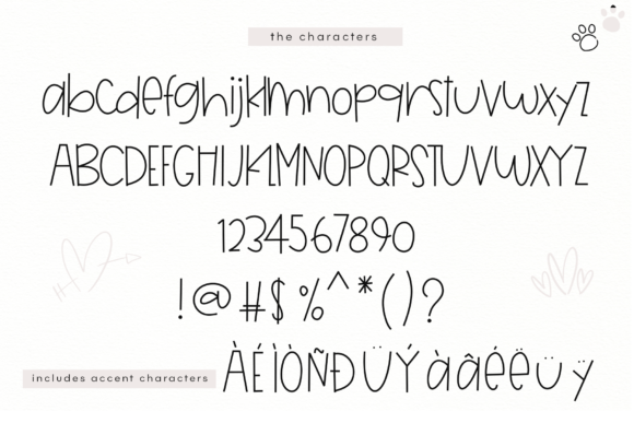 Print on Demand: Unlikely Friends Display Font By KA Designs - Image 9