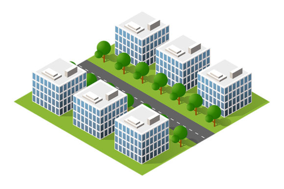 Print on Demand: Urban Module for the Construction Graphic Scene Generators By AlexZel