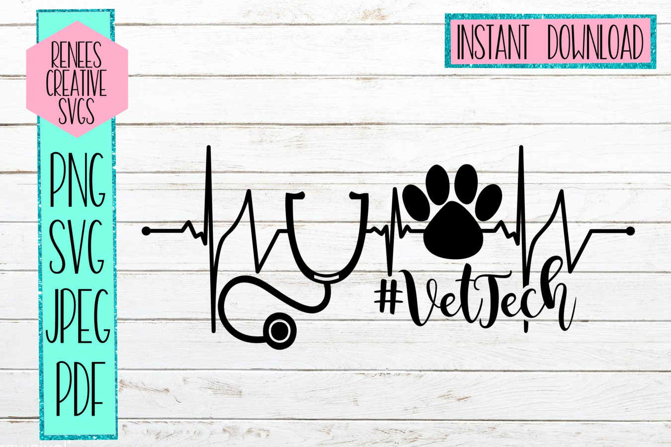 Download Free Vet Tech Svg Cutting File Graphic By Reneescreativesvgs SVG Cut Files