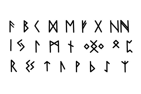 Download Free Viking Alphabet Svg Cut File By Creative Fabrica Crafts for Cricut Explore, Silhouette and other cutting machines.