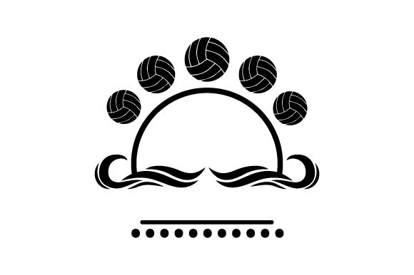 Download Free Water Polo Themed Svg Cut File By Creative Fabrica Crafts for Cricut Explore, Silhouette and other cutting machines.