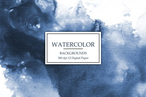 Print on Demand: Watercolor Backgrounds Graphic Textures By Creative Paper