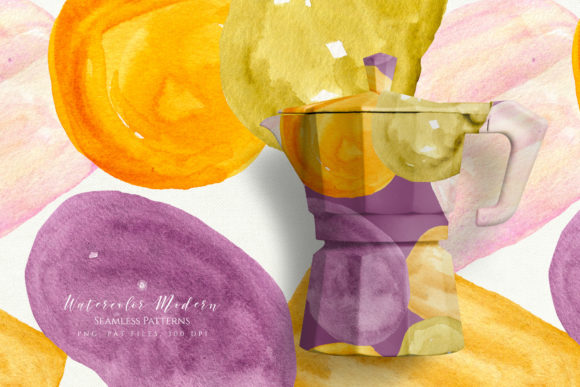 Watercolor Modern Patterns Graphic Patterns By webvilla - Image 2