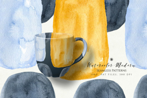 Watercolor Modern Patterns Graphic Patterns By webvilla - Image 3