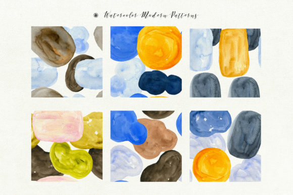Watercolor Modern Patterns Graphic Patterns By webvilla - Image 6
