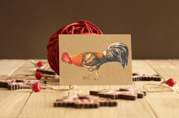 Print on Demand: Watercolor Roosters Clipart Graphic Illustrations By natalia.piacheva - Image 5