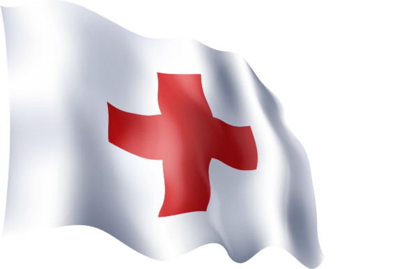 Download Free Waving Flags Of Red Cross Red Crescent Graphic By Ingofonts for Cricut Explore, Silhouette and other cutting machines.
