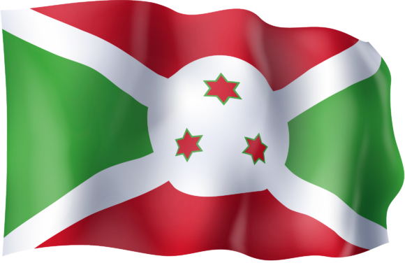 Download Free Waving Flag Of Burundi Graphic By Ingofonts Creative Fabrica for Cricut Explore, Silhouette and other cutting machines.