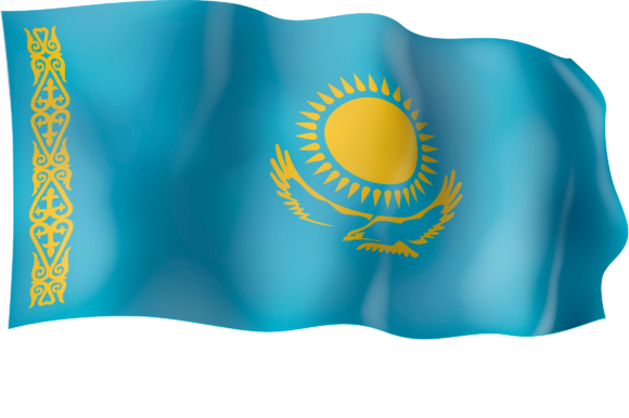 Download Free Waving Flag Of Kazakhstan Graphic By Ingofonts Creative Fabrica SVG Cut Files