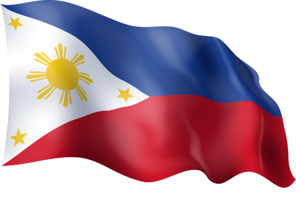 Download Free Waving Flag Of The Philippines Graphic By Ingofonts Creative for Cricut Explore, Silhouette and other cutting machines.