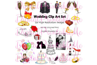 Wedding Clip Art Marriage Love Wed Graphic By DigitalPrintableMe