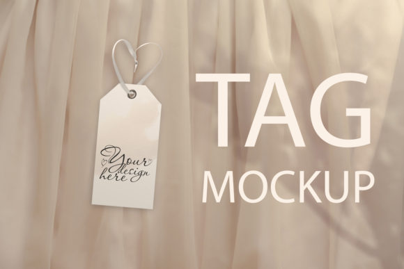 Download Free Wedding Tag Mockup Wedding Thanks Tag Graphic By Natalia for Cricut Explore, Silhouette and other cutting machines.