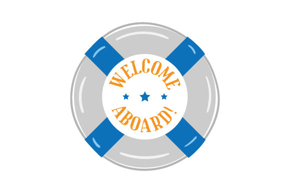 Download Free Welcome Aboard Svg Cut File By Creative Fabrica Crafts for Cricut Explore, Silhouette and other cutting machines.