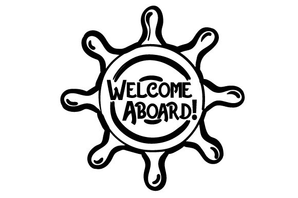 Welcome Aboard Nautical Craft Cut File By Creative Fabrica Crafts - Image 2