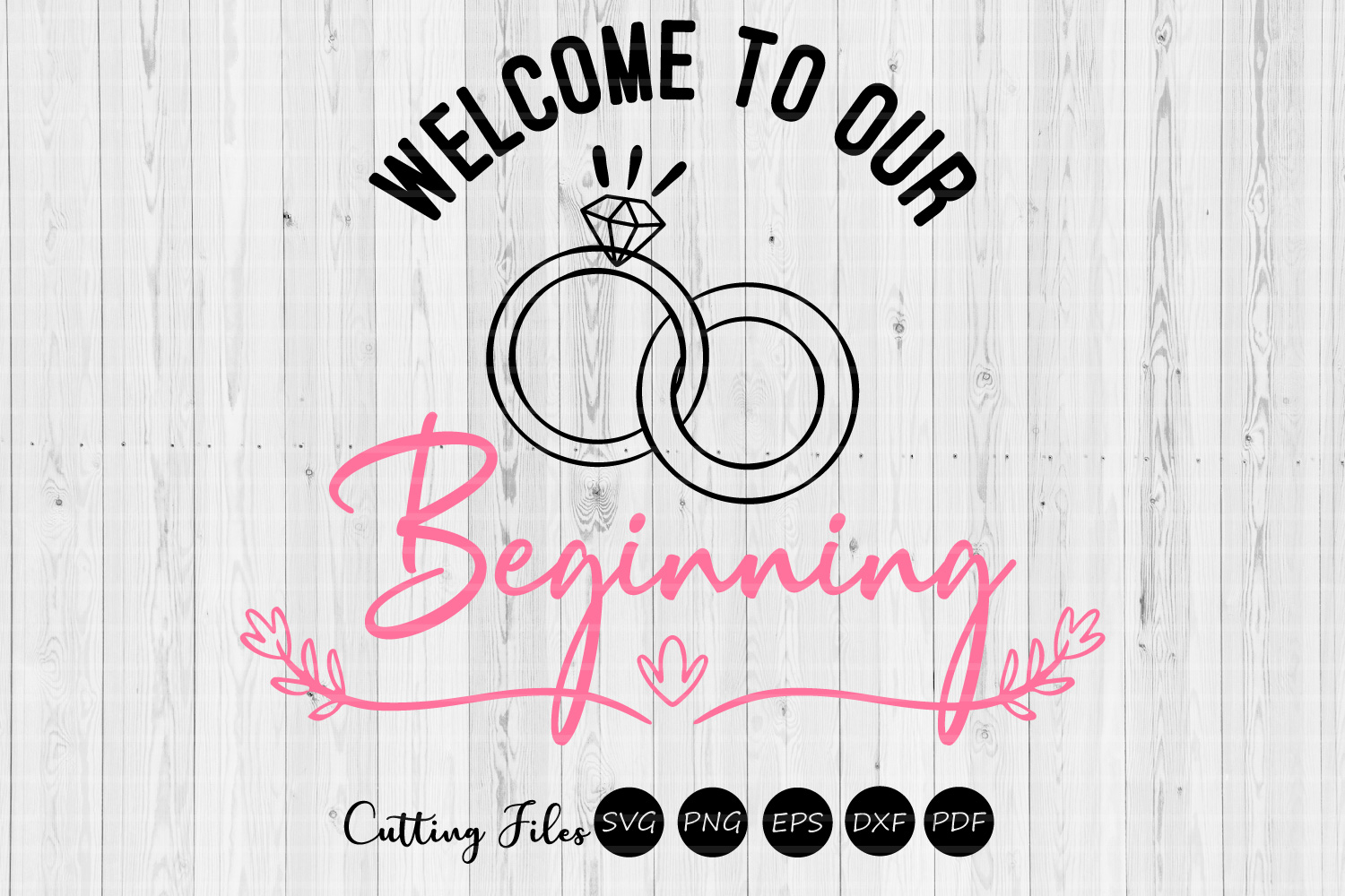 Download Free Welcome To Our Beginning Svg Graphic By Hd Art Workshop for Cricut Explore, Silhouette and other cutting machines.