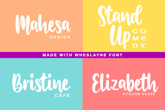 Wheslayne Script Font By R. Studio Image 3