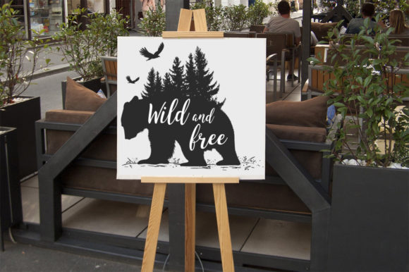 Download Free Wild And Free Svg Graphic By Aartstudioexpo Creative Fabrica for Cricut Explore, Silhouette and other cutting machines.