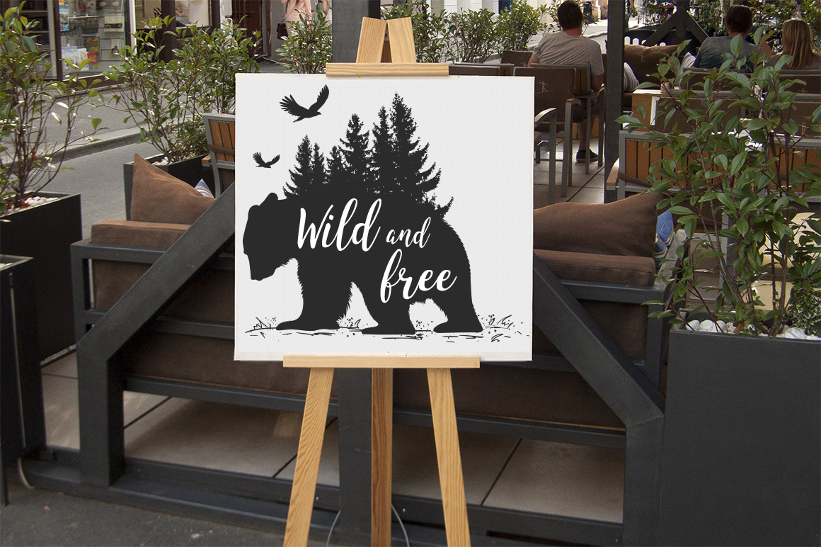 Download Free Wild And Free Svg Graphic By Aartstudioexpo Creative Fabrica SVG Cut Files