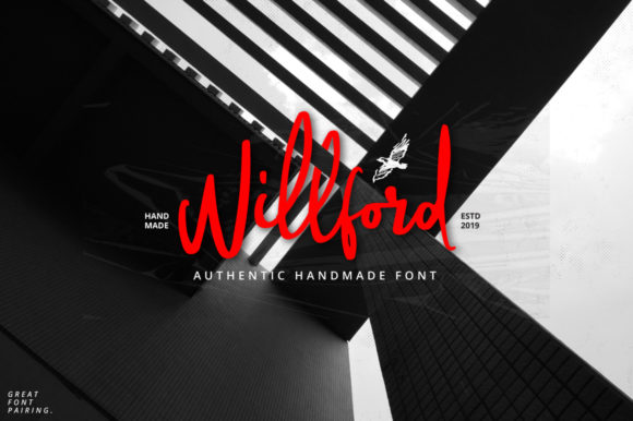 Print on Demand: Willford Script & Handwritten Font By Ijem RockArt