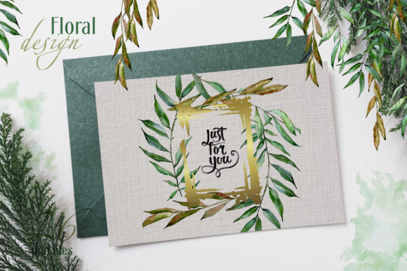 Print on Demand: Willow Branches Watercolor Png Graphic Illustrations By MyStocks - Image 2
