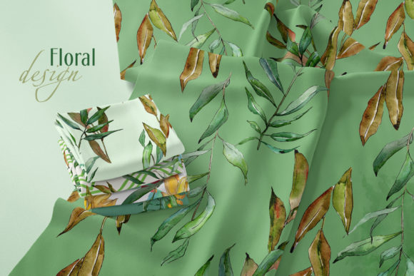 Print on Demand: Willow Branches Watercolor Png Graphic Illustrations By MyStocks - Image 3