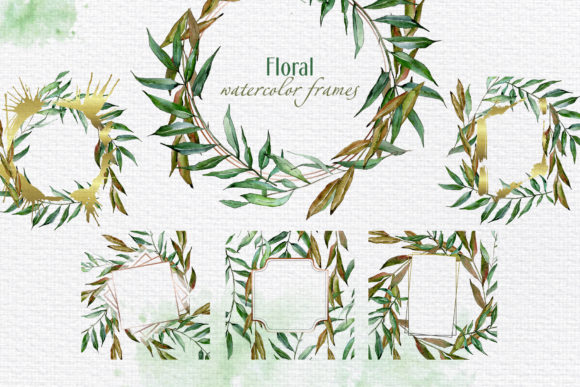 Print on Demand: Willow Branches Watercolor Png Graphic Illustrations By MyStocks - Image 6