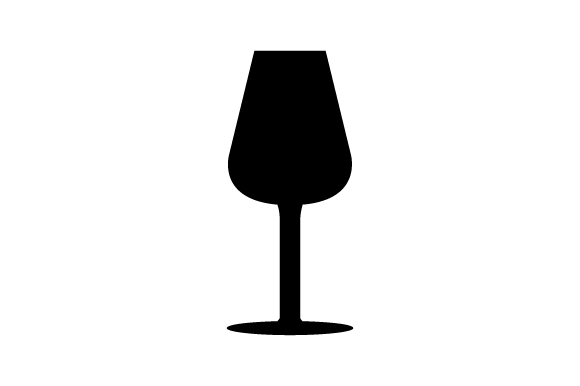 Download Free Wine Glass Icon Graphic By Marco Livolsi2014 Creative Fabrica for Cricut Explore, Silhouette and other cutting machines.