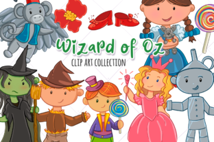Print on Demand: Wizard of Oz Graphic Illustrations By Keepinitkawaiidesign