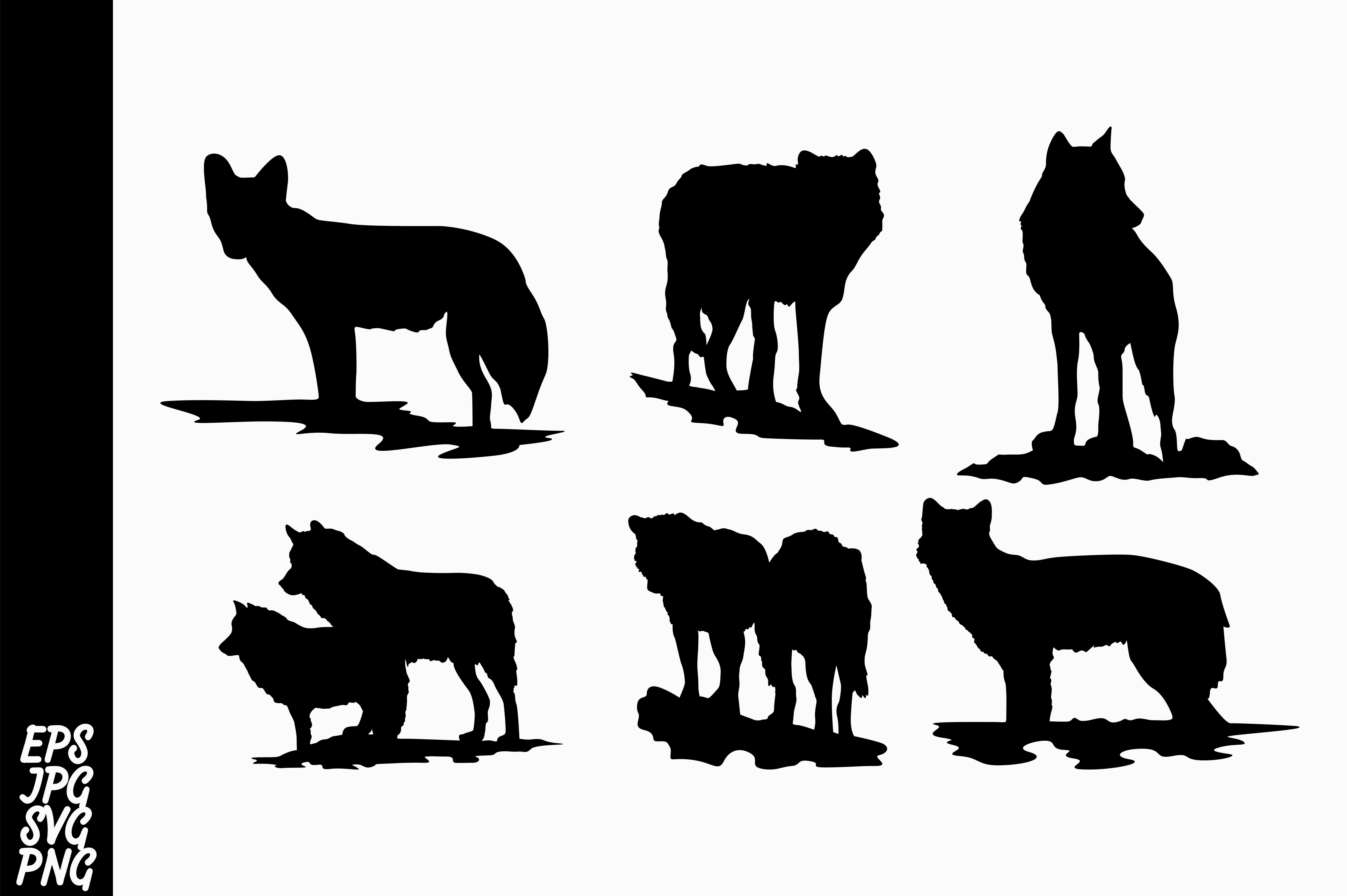 Download Free Wolf Silhouette Svg Bundle Graphic By Arief Sapta Adjie Ii for Cricut Explore, Silhouette and other cutting machines.