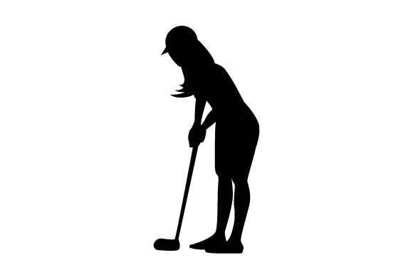 Download Free Woman Golfer Silhouette Svg Cut File By Creative Fabrica Crafts for Cricut Explore, Silhouette and other cutting machines.