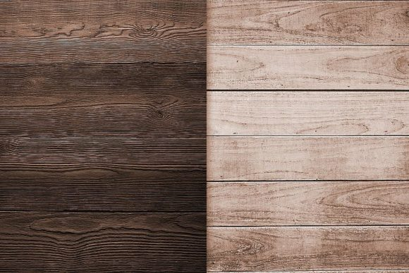 Print on Demand: Brown Wood Textures Backgrounds Graphic Backgrounds By Creative Paper - Image 2