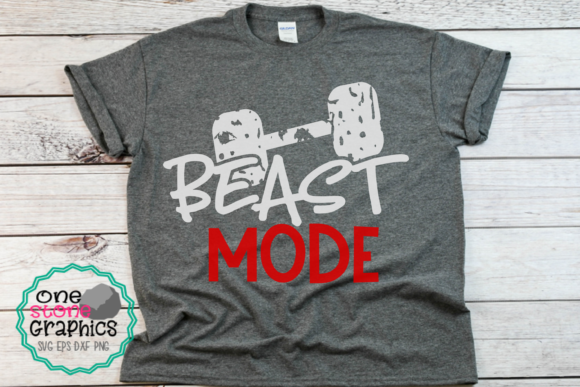 Download Free Working Out Svg Beast Mode Svg Graphic By Onestonegraphics for Cricut Explore, Silhouette and other cutting machines.