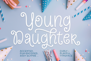 Young Daughter Font By Situjuh