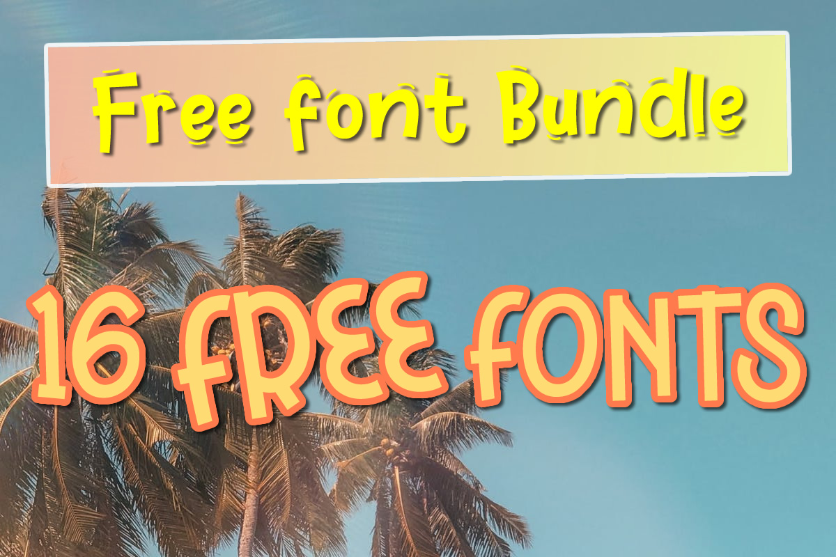 Download Free Free Font Bundle Cool For The Summer Bundle Creative Fabrica for Cricut Explore, Silhouette and other cutting machines.