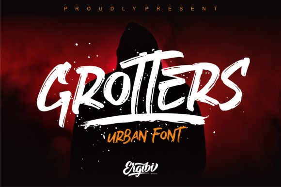 Print on Demand: Grotters Script & Handwritten Font By ergibi studio - Image 1