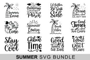 14 Summer Svg Bundle Graphic By Handmade studio