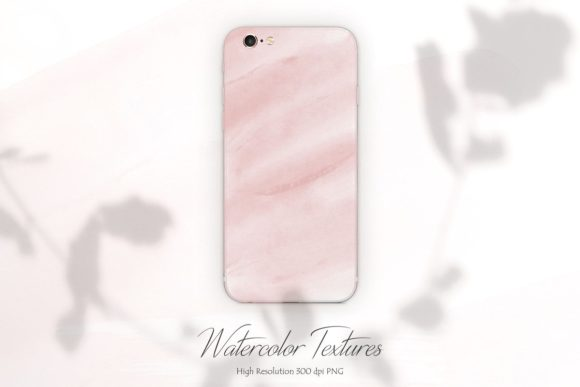 Print on Demand: Rose Watercolor Backgrounds Graphic Backgrounds By Creative Paper - Image 2