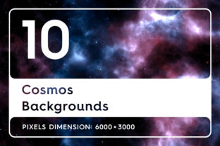 20 Cosmos Backgrounds Graphic By Textures