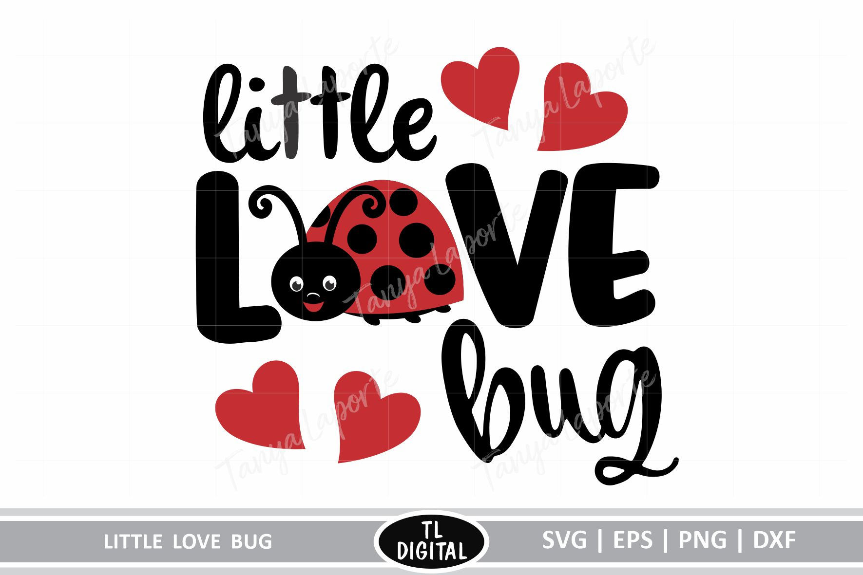 Download Free Little Love Bug Grafico Por Tl Digital Creative Fabrica for Cricut Explore, Silhouette and other cutting machines.